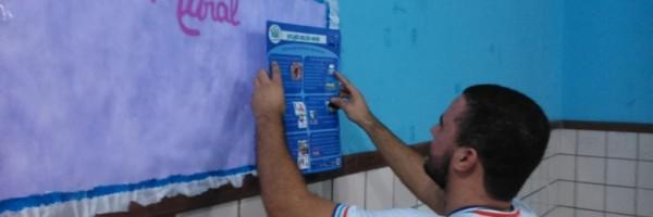 Palestra sobre alimentação saudável - Colégio Estadual Rui Barbosa - Juazeiro-BA - 22.07.15