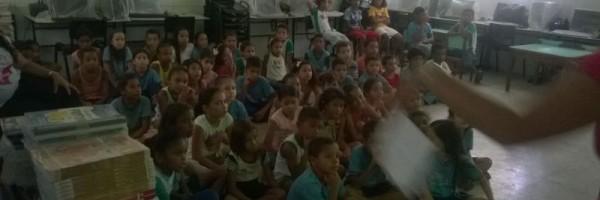 Palestra sobre horta sustentável - Escola Jeconias José - Petrolina-PE - 08.05.15
