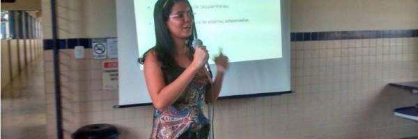 Palestra sobre reanimação cardiopulmonar - Escola Gercino Coelho - Petrolina-PE - 10.07.15