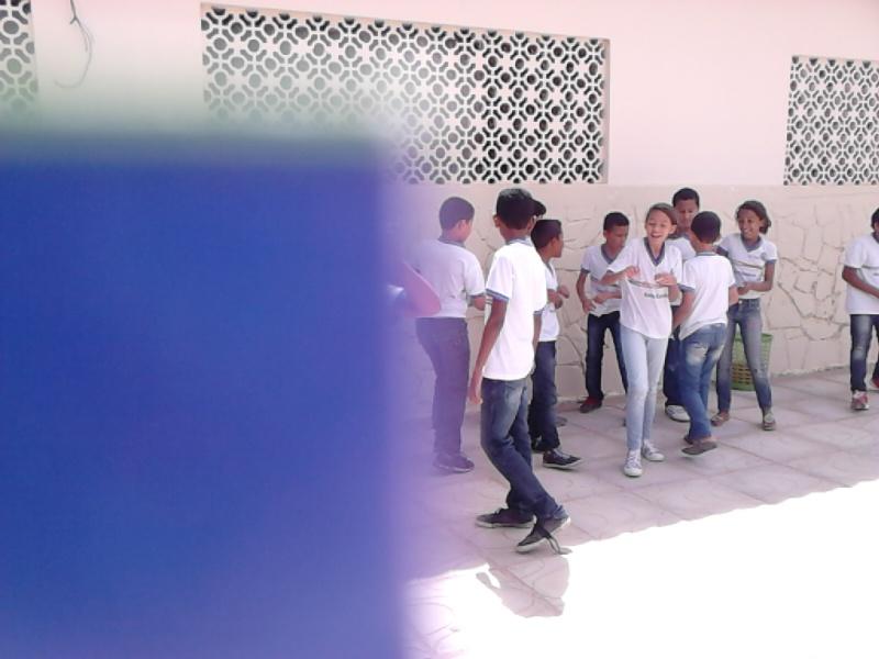 Atividade de adesivagem - Escola Estadual Eduardo Coelho - Petrolina-PE - 03.08.15