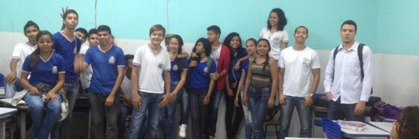 Atividade de arborização e compostagem - Escola Lomanto Júnior - Juazeiro-BA - 06.08.15