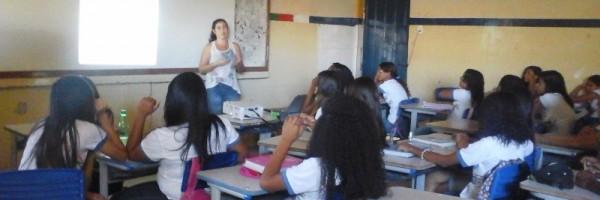 Palestra sobre a conservação da água - Escola Joaquim José Cavalcanti - Petrolin-PE - 31.07.15