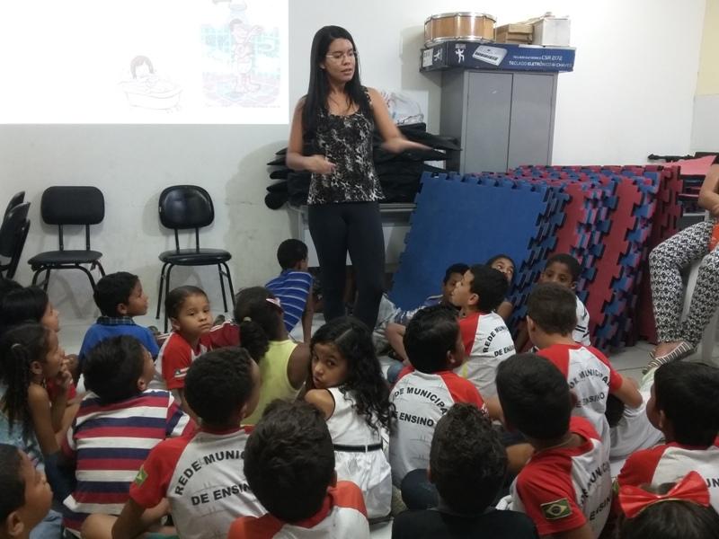Palestra sobre higiene ambiental - Escola Joca de Souza - Juazeiro-BA - 04.08.15