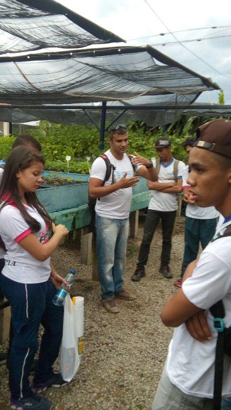 Visita ao CRAD - Escola Estadual Adelina Almeida - Petrolina-PE - 07.08.15