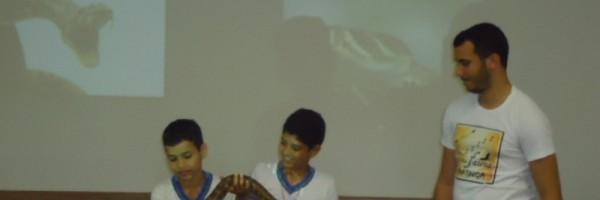 Visita técnica ao CEMAFAUNA - Escola Estadual Antônio Cassimiro - Petrolina-PE - 29.07.15